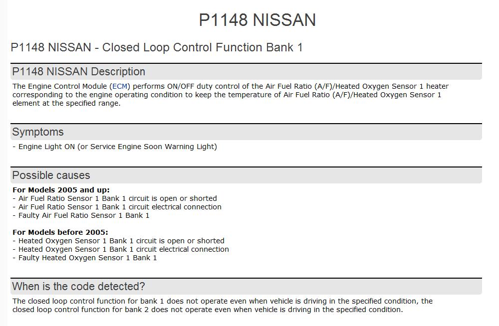 p1051 nissan murano 2005