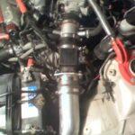 1995-1999 Custom Cold Air Intake Installed on 4tgen Nissan Maxima