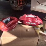 2009-2015 7thgen Nissan Maxima with 370z/G37 Akebono Big Brake Kit Setup
