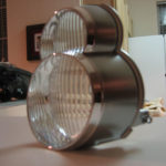 Get Rid of Orange Lens on 5thgen Maxima Headlights (Intermatic Malibu ML11P2 Floodlights)