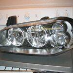 2002-2003 5thgen Nissan Maxima Orange Headlight Reflector Removal