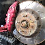Megan Racing 4 Piston BBK Installed on 4thgen Nissan Maxima