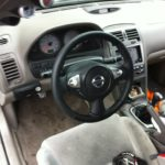 2002 A33 5thgen Maxima with A35 7thgen Maxima Steering Wheel Installed