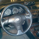 Toyota Celica 3-Spoke Steering Wheel Installed on 4thgen Nissan Maxima (Working Airbag and Cruise Control)