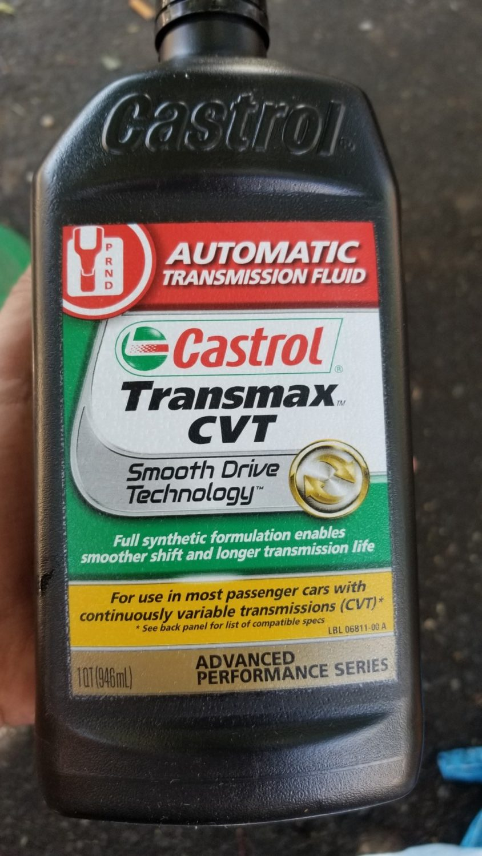 Castrol Transmax CVT Transmission Fluid Drain/Refill Review