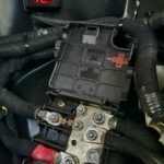 Audi OEM Battery Junction Terminal Box Installed on 5thgen Nissan Maxima