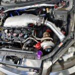 Turbo VQ35DE 6-Speed Nissan Altima SE-R w/ Holley Hi-Ram Upper Intake Manifold