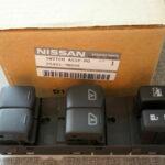 2009-2014 Nissan Maxima LH Driver Master Power Window Lock Switch Replacement (Part # 25401-9N00E)