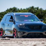 Victor & Areli Cruz's Modded & Bagged Nissan Pathfinder