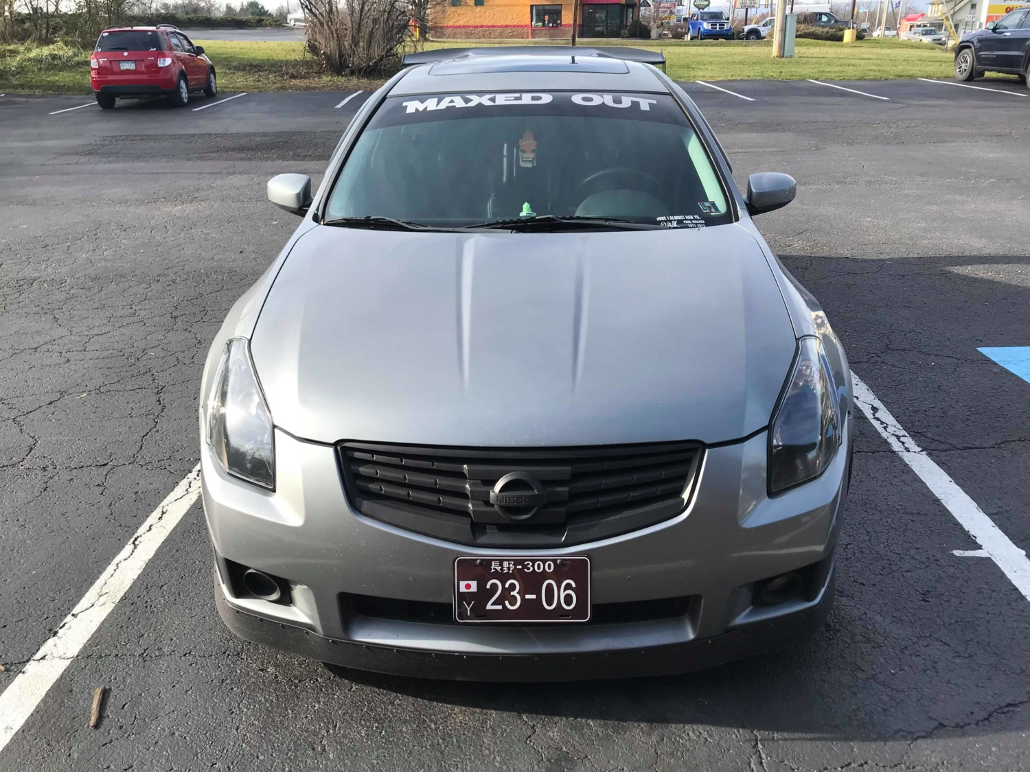 Modded 2007 6thgen Nissan Maxima With Fender Flares And