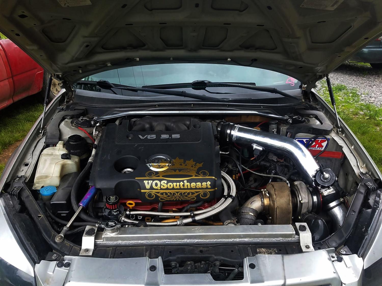 altima nissan turbo vq35de caleb speed anderson 2005 my4dsc engine transmission swap owner