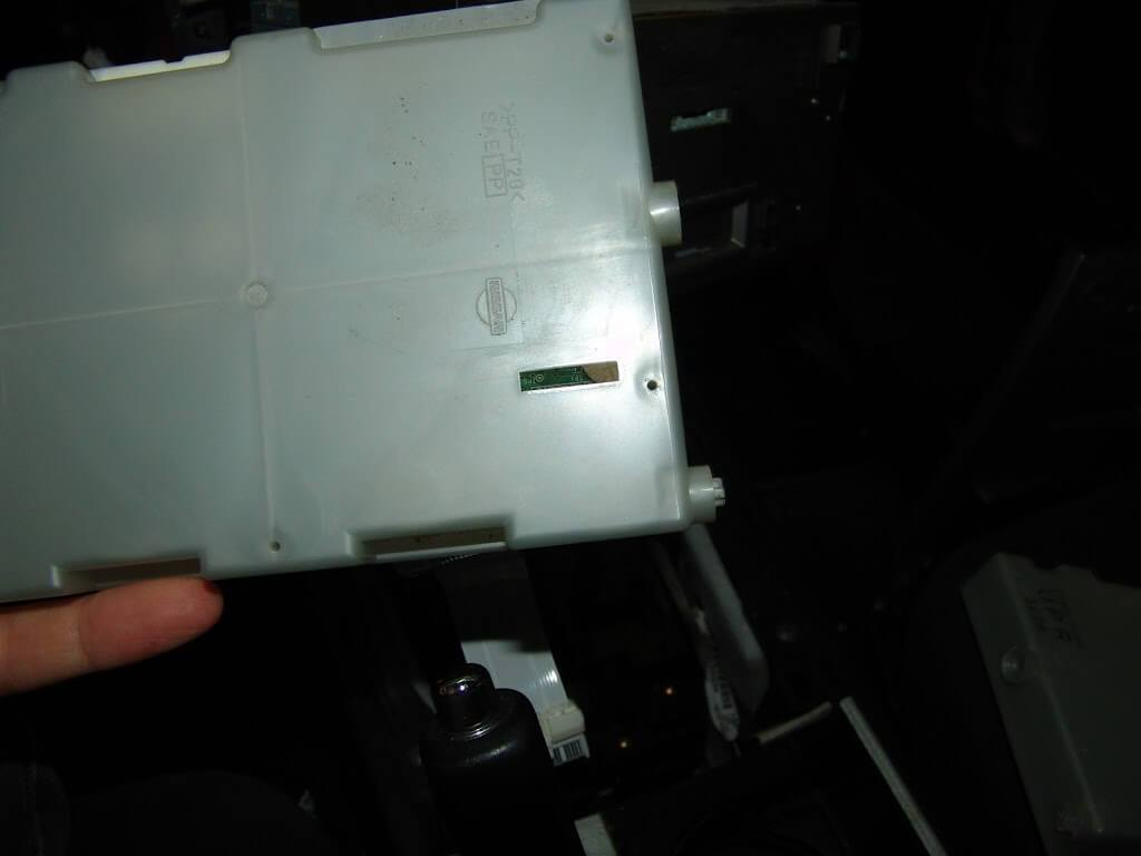 nissan unified meter control unit