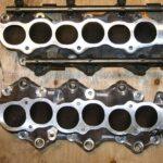 VQ35DE RWD 350z vs FWD Maxima Lower Intake Manifold Comparison