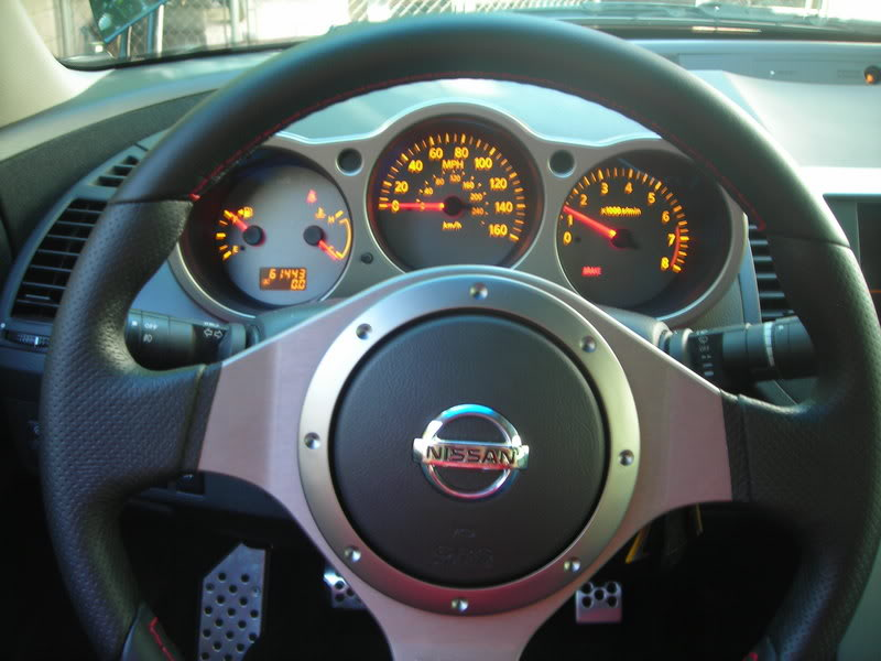 Swapping Aftermarket Steering Wheel in 6thgen Maxima (Air
