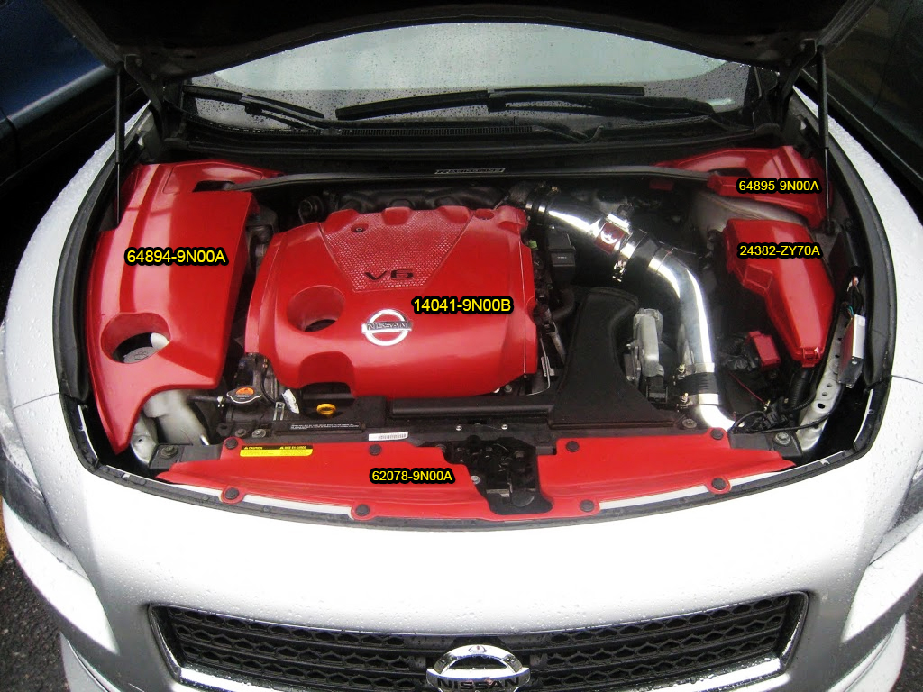 Engine Cover Part Numbers For 7thgen Maxima