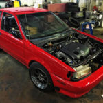 Hector Cruz's Gen2 VQ35DE HR 6-Speed Swapped B13 SE-R Sentra