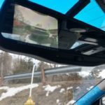 09+ Nissan Rogue Rear View LCD Screen Mirror Installed on 5thgen Maxima