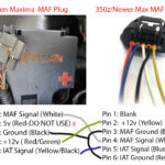 2002-2003 5thgen MAF Upgrade to 350z/370z/GTR or Newer Nissan Maxima MAF (Mass Airflow Sensor)