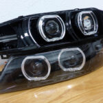 1995-1999 Nissan Maxima Ultimate Custom Headlight Quad Retrofit Build (LED Halos + HIDs)