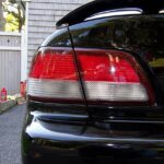 1997-1999 Nissan Maxima Clear/Red Tail light Conversion
