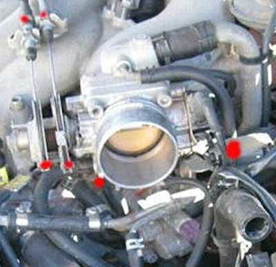 Knock Sensor FAQ & Replacement on 3rdgen Maxima | Spark Plug Nissan Ve30de Wiring Harness |  | my4dsc.com