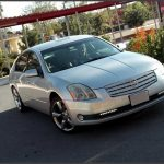 6thgen Maxima With Cadillac CTS Grille & 2009 7thgen Side Mirrors