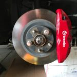 Brembo BBK Installed on 2016 8thgen Nissan Maxima