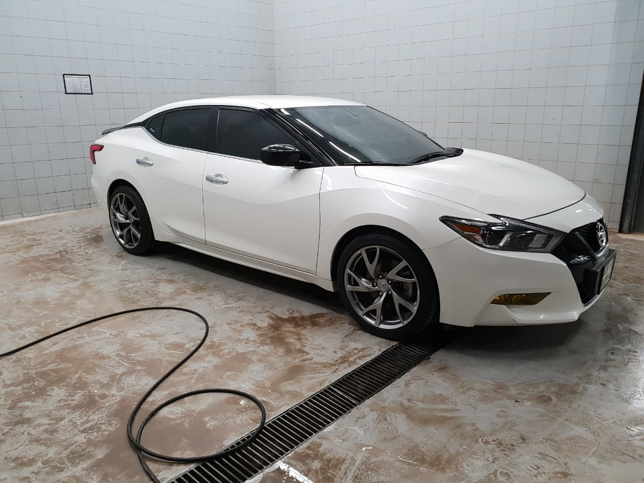 2016 8thgen Nissan Maxima with 370z Wheels