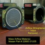 4thgen Nissan Maxima Mass Airflow MAF Sensor Mod