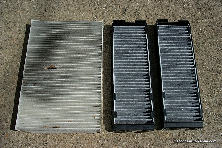 2000-2003 Nissan Maxima In Cabin Micro Filter Replacement Procedure